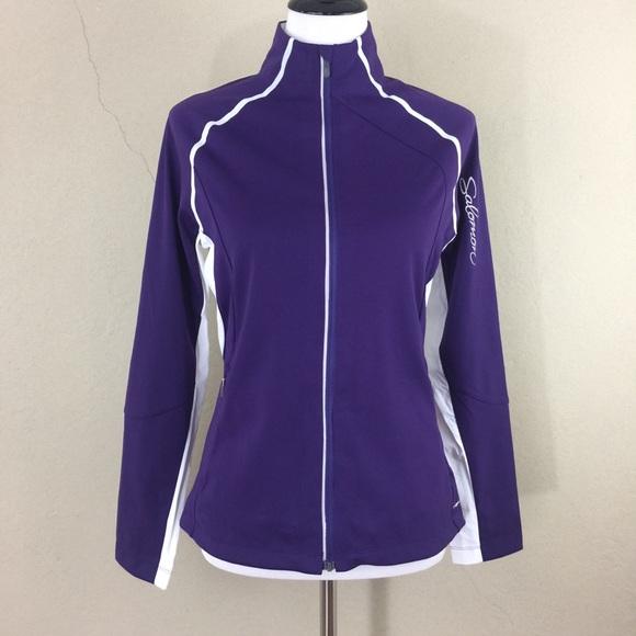 032d5936541 Salomon Jackets & Coats   New Ws Stretch Clima Wind Zip Jacket ...